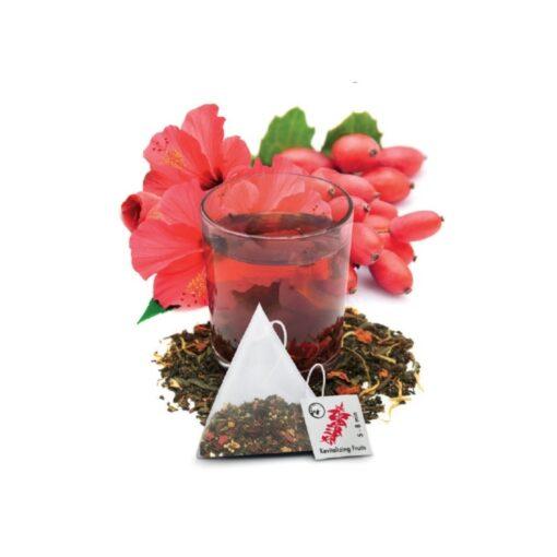 herbata z owoców hibiscusa